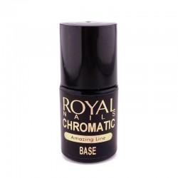 Pagrindas blizgioms pudroms Royal Nails Chromatic Base 5ml