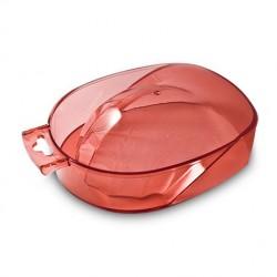Plastikinė vonelė manikiūrui skaidri