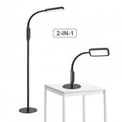Reguliuojamas grindų - darbo stalo šviestuvas 16W B