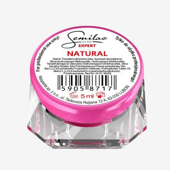 Semilac UV gelis Expert Natural
