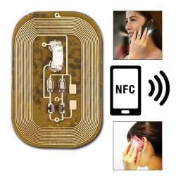 Žibanti dekoracija nagams NFC technologija